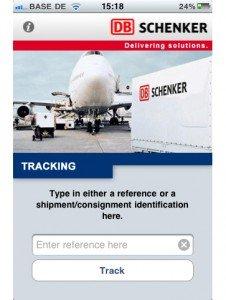 DB Schenker iPhone App