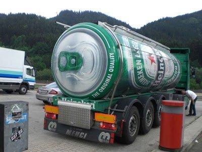 Heineken truck