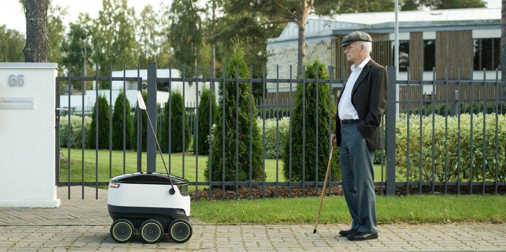 starship robot sidewalk