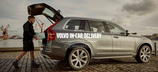 Volvo In Car Delivery