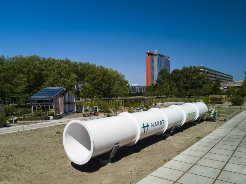 Hardt Hyperloop Test Track in Delft